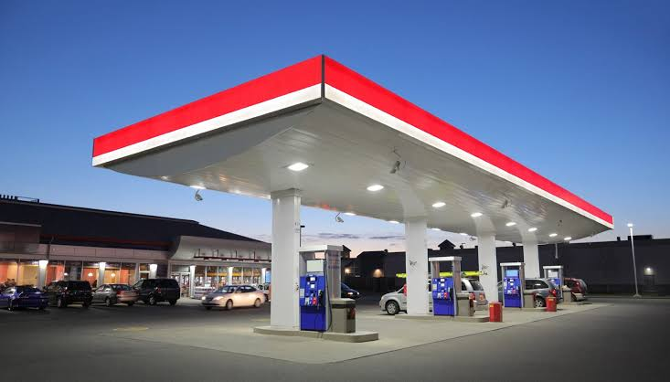 Fuel and gas station